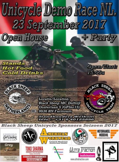 Unimoto-Event beim Black Sheep MC Delfzil