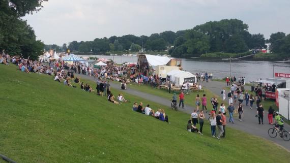 Das Kulturevent Breminale feierte seinen 30. Geburtstag.