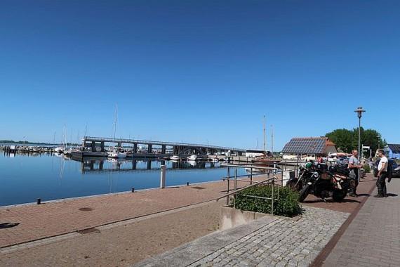 Das Areal um die Hafenrücke in Wiek ist der Schauplatz des neuen Treffens!