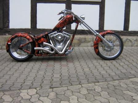 Mit diesem Bike nahm Dirk erfolgreich am AMD Award in 2007 teil.
