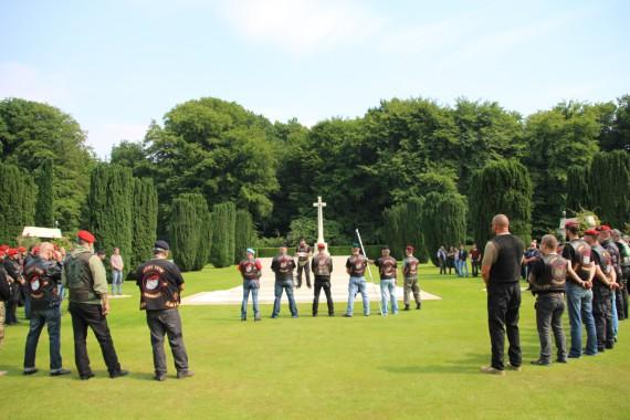 Mit dem 9. Honour run gedachte der Army Vets MC Germany erneut seinen gefallenen Kameraden!